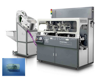 الصين Fully Automatic Screen Print Machine Chain - Type For Multicolor Glass Tube Plastic Tube المزود