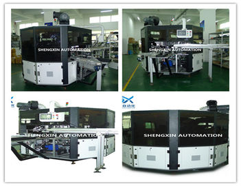 الصين Flat Bed Silk Automatic Screen Printing Machine Turntable Type المزود