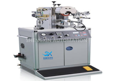 700W Plastic Cap Hot Foil Stamping Machine with PLC Controlled